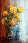 Незабудки и розы